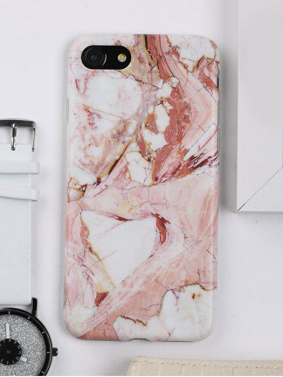 best Marble Pattern Phone Cover Case For Iphone - BROWN FOR IPHONE 7