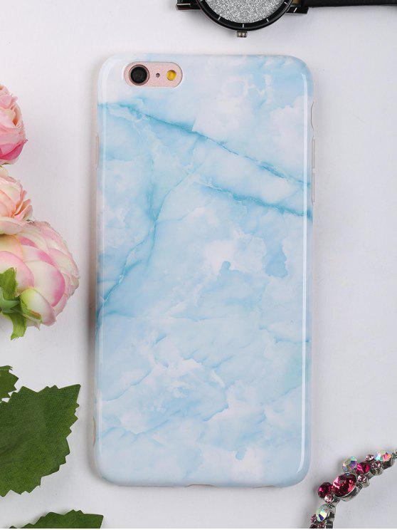 womens Marble Pattern Mobile Phone Case For Iphone - AZURE FOR IPHONE 6 PLUS / 6S PLUS