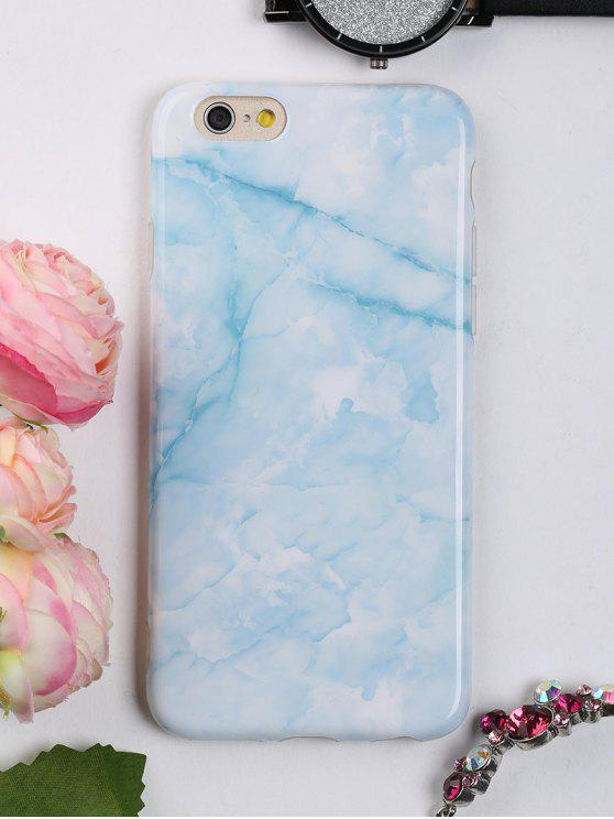 buy Marble Pattern Mobile Phone Case For Iphone - AZURE FOR IPHONE 6 / 6S