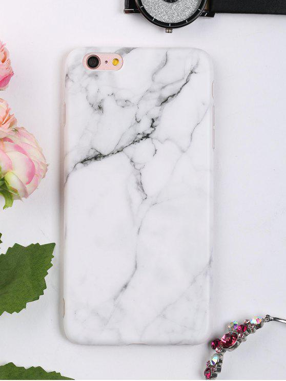 fancy Marble Pattern Phone Case For Iphone - WHITE FOR IPHONE 6 PLUS / 6S PLUS