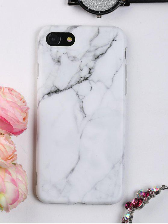 sale Marble Pattern Phone Case For Iphone - WHITE FOR IPHONE 7