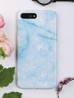 Marble Pattern Mobile Phone Case For Iphone - Azure For Iphone 7 Plus