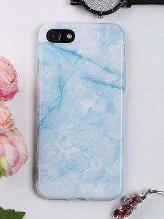 Marble Pattern Mobile Phone Case For Iphone - Azure For Iphone 7