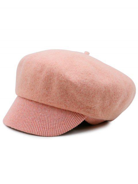 shop Wool Blend Knit Newsboy Hat -   Mobile