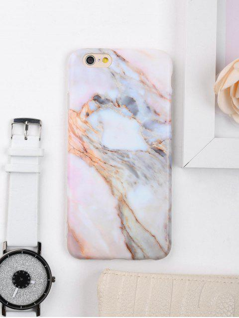 outfits Marble Stone Pattern Phone Case For Iphone - COLORMIX FOR IPHONE 6 / 6S Mobile