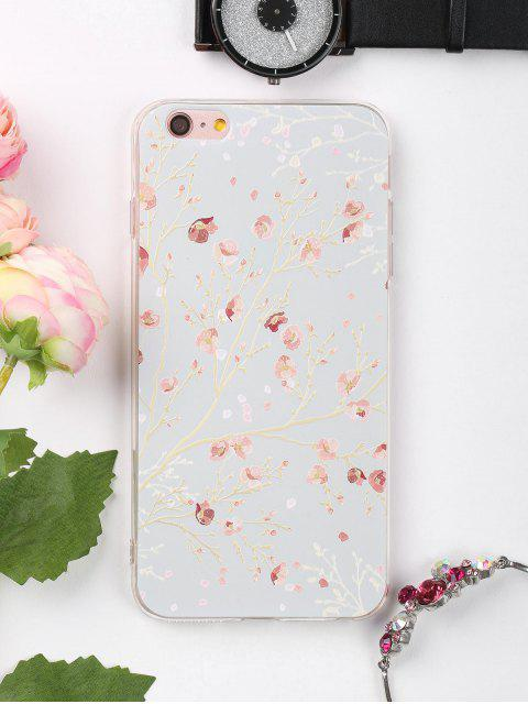 fashion Branch Floral Pattern Phone Case For Iphone - COLORMIX FOR IPHONE 6 PLUS / 6S PLUS Mobile