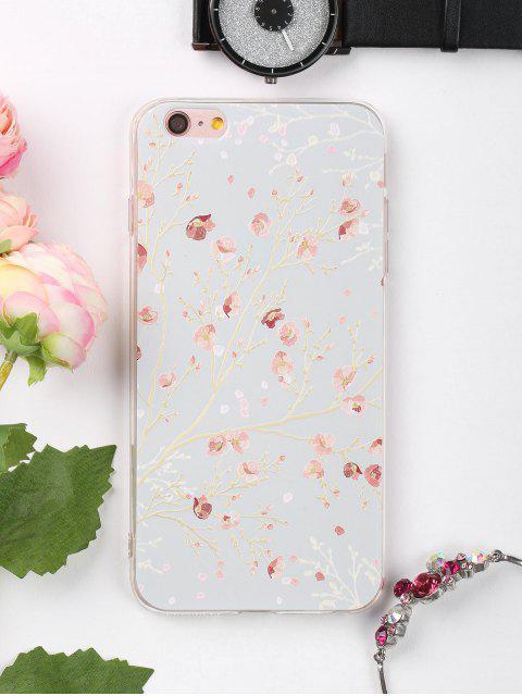 Rama de la caja del teléfono del patrón floral para Iphone - Colormix PARA IPHONE 6 PLUS / 6S PLUS Mobile