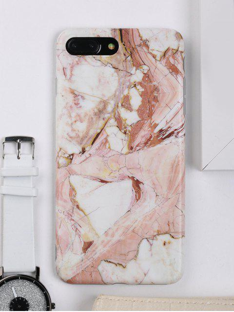 online Marble Pattern Phone Cover Case For Iphone - BROWN FOR IPHONE 7 PLUS Mobile