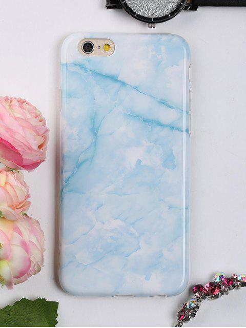 buy Marble Pattern Mobile Phone Case For Iphone - AZURE FOR IPHONE 6 / 6S Mobile