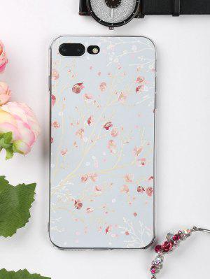 Handytasche mit Zweig-Blumenmuster für Iphone