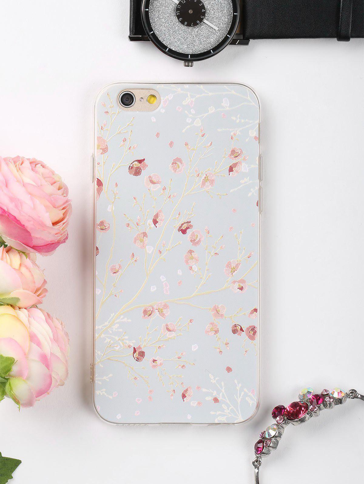 Étui de téléphone à motifs floraux pour iphone