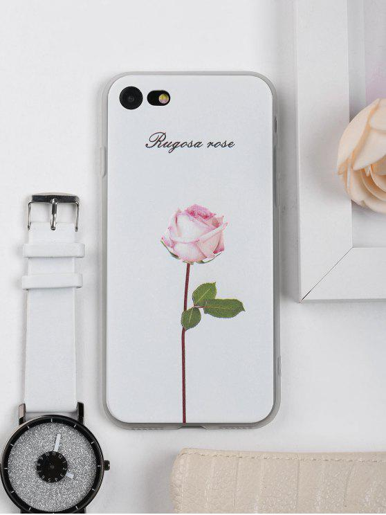 new concept 140e8 77a86 Rose Flower Pattern Phone Case For Iphone