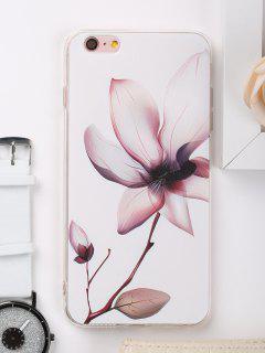 Étui De Téléphone à Motifs Floraux Pour Iphone - Blanc Pour Iphone 6 Plus / 6s Plus