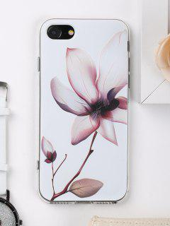 Flower Pattern Phone Case For Iphone - White For Iphone 7