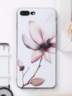 Étui De Téléphone à Motifs Floraux Pour Iphone - Blanc Pour Iphone 7 Plus