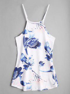 Floral Slip Dress - Floral Xl