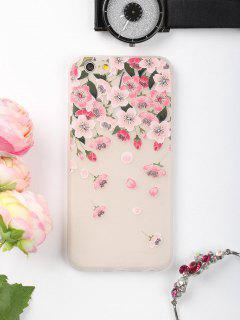 Flowers Petals Pattern Phone Case For Iphone - Pink For Iphone 6 / 6s
