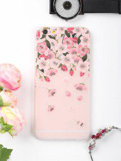 Flowers Petals Pattern Phone Case For Iphone - Pink For Iphone 6 Plus / 6s Plus