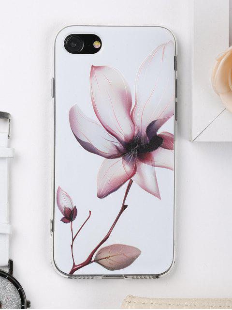 trendy Flower Pattern Phone Case For Iphone - WHITE FOR IPHONE 7 Mobile