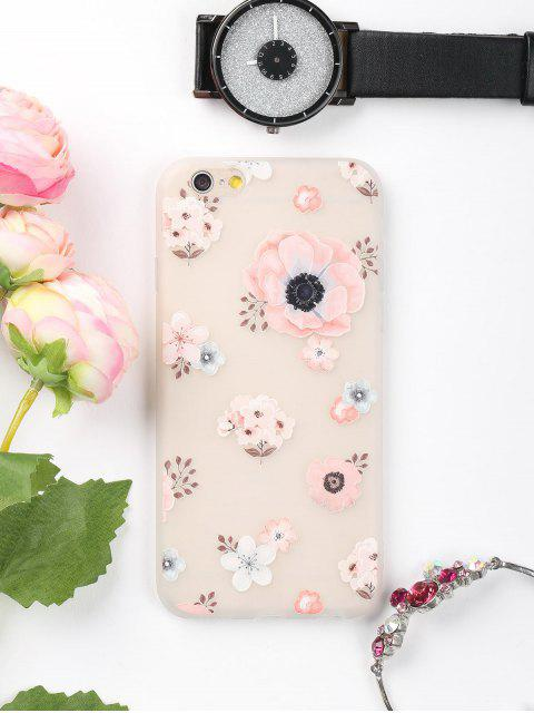 Blumenmuster-Telefon-Kasten für Iphone - Pink FÜR  IPHONE 6 Mobile
