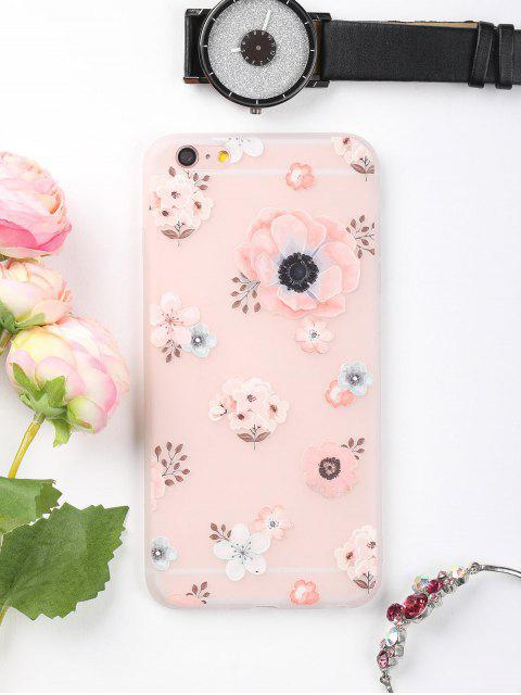 Blumenmuster-Telefon-Kasten für Iphone - Pink FÜR IPHONE 6 PLUS / 6S PLUS Mobile