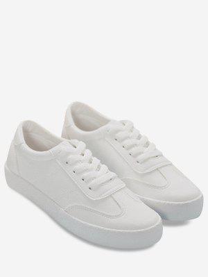 Chaussures athlétiques en similicuir