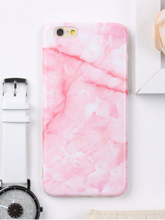 650341545699e 22% OFF] 2019 Marble Pattern Cell Phone Case For Iphone In PINK | ZAFUL
