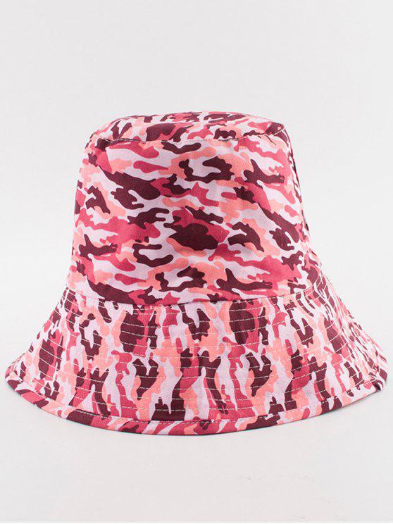 Cappello di benna del camuffamento del deserto - Rosa