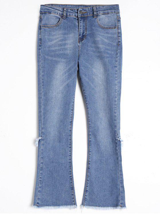 Jeans tagliati a freddo - Blu M