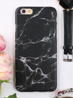 Marble Phone Case For Iphone - Black For Iphone 6 / 6s
