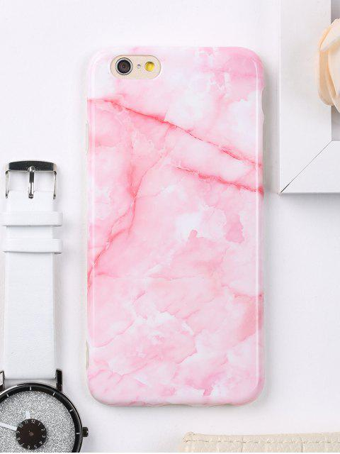 sale Marble Pattern Cell Phone Case For Iphone - PINK FOR IPHONE 6 / 6S Mobile