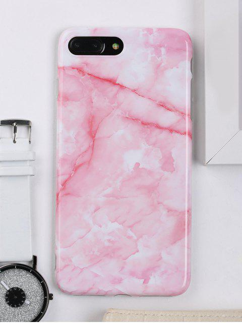 womens Marble Pattern Cell Phone Case For Iphone - PINK FOR IPHONE 7 PLUS Mobile