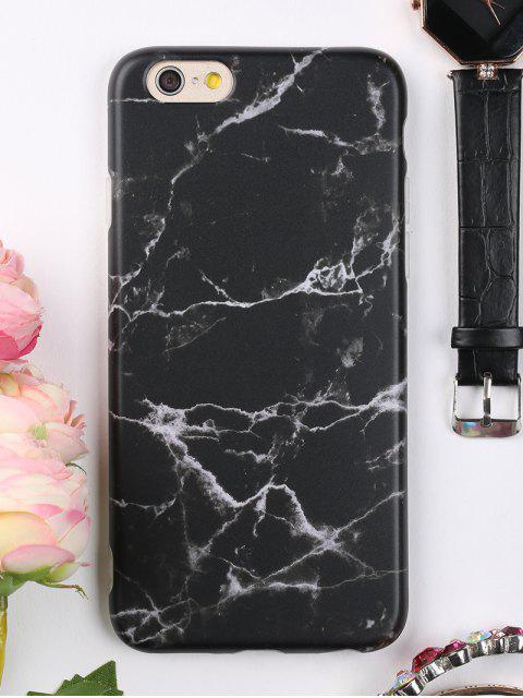 Étui de Téléphone Motif Marbre pour Iphone - Noir POUR IPHONE 6 / 6S  Mobile