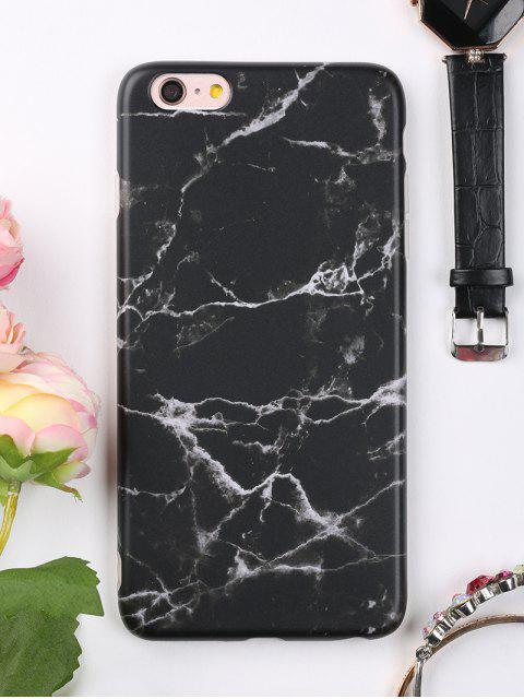 outfits Marble Phone Case For Iphone - BLACK FOR IPHONE 6 PLUS / 6S PLUS Mobile