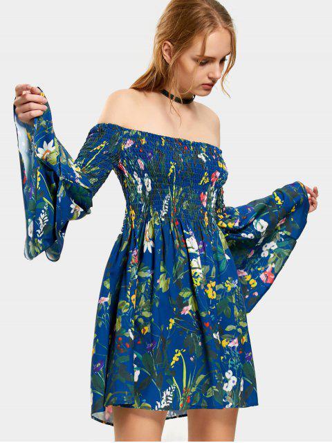 Vestido de túnica sin mangas con flores - Floral L Mobile