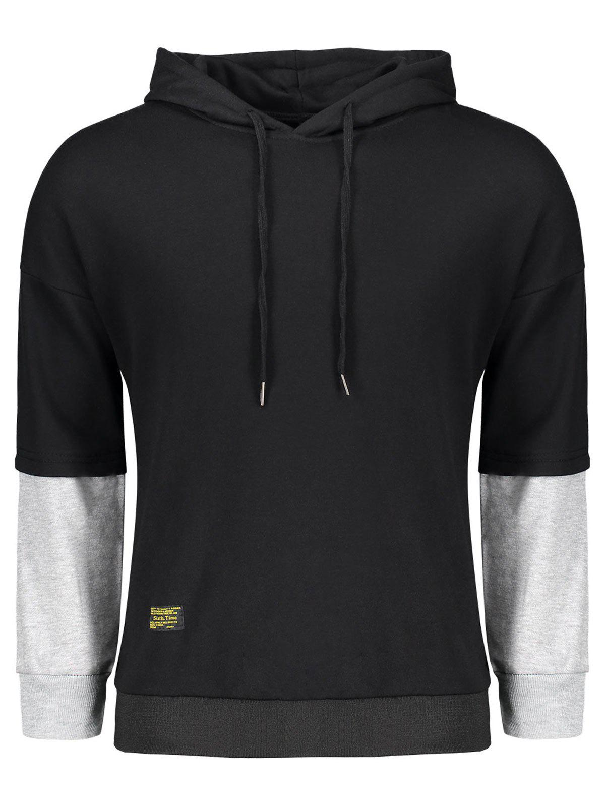 Pullover Two Tone Hoodie
