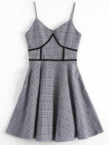 فستان هوندتوث مثير - مربع النقش L