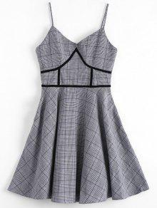 فستان هوندتوث مثير - مربع النقش S