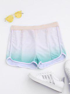 Ombre Running Shorts - L