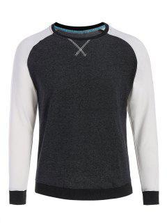 Camiseta Para Hombre Del Béisbol - Gris Oscuro Xl
