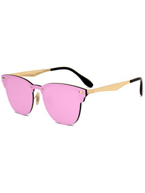 Espejo metálico Wayfarer gafas de sol - Rosa  Mobile
