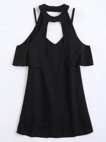 تراكب قطع اللباس مصغرة - أسود Xl