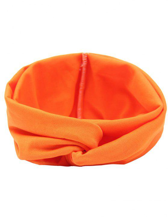 Bandeau Cheveux Élastique Multi-usages - Orange