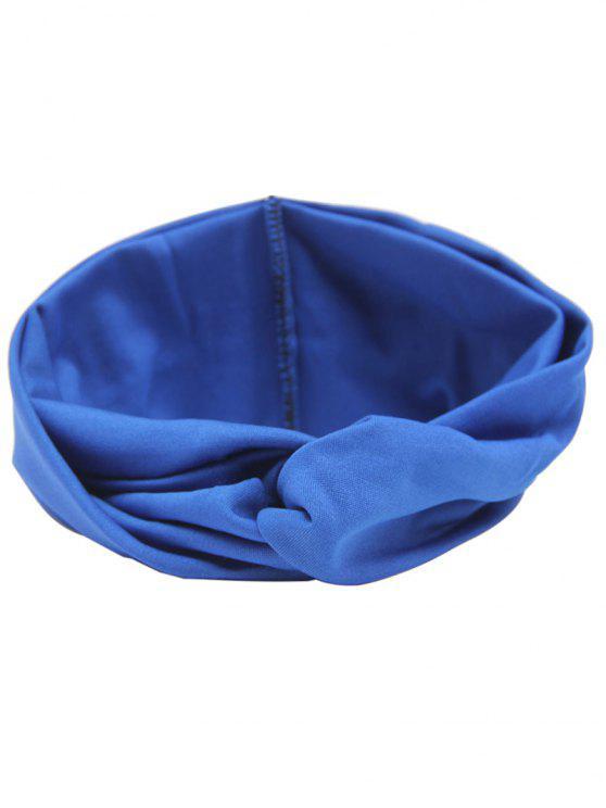 Bandeau Cheveux Élastique Multi-usages - Bleu