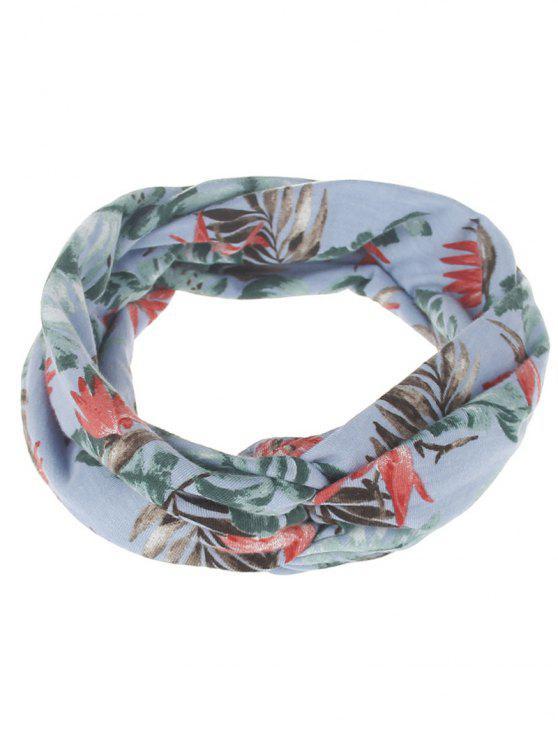 Bandes de cheveux élastiques imprimées à feuilles multiples - 01#