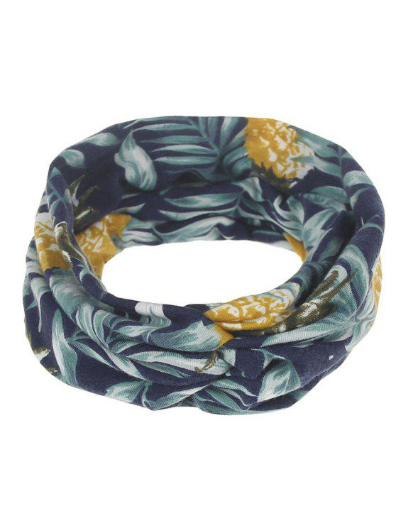 Multiuse Blatt gedrucktes elastisches Haar-Band - #03
