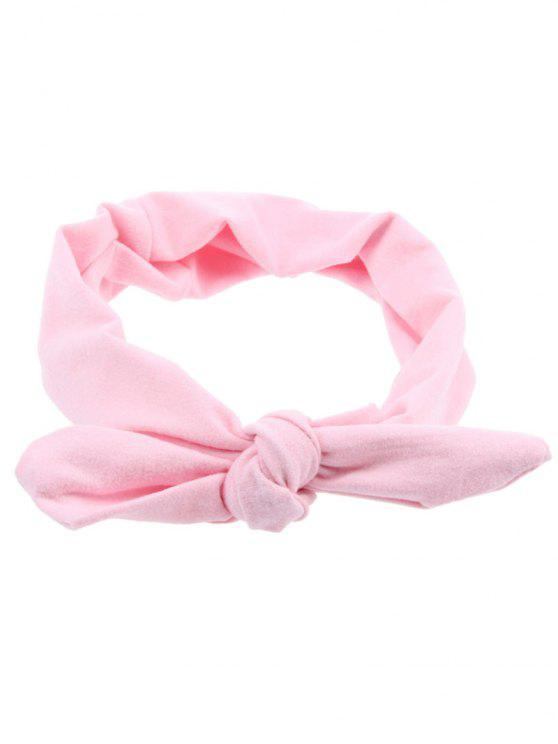 Multiuse Bows Elastisches Haarband - Pink