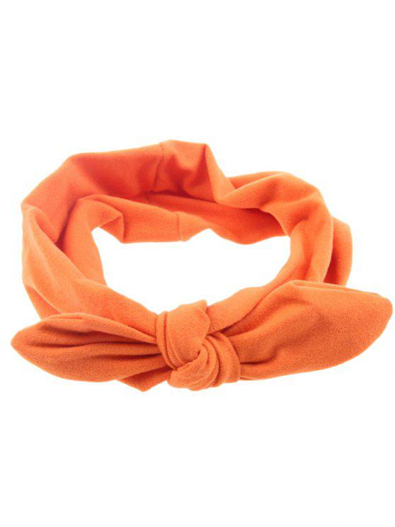 sale Multiuse Bows Elastic Hair Band - ORANGE