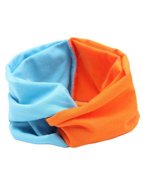 Bande élastique multiforme - Bleu et Orange  Mobile