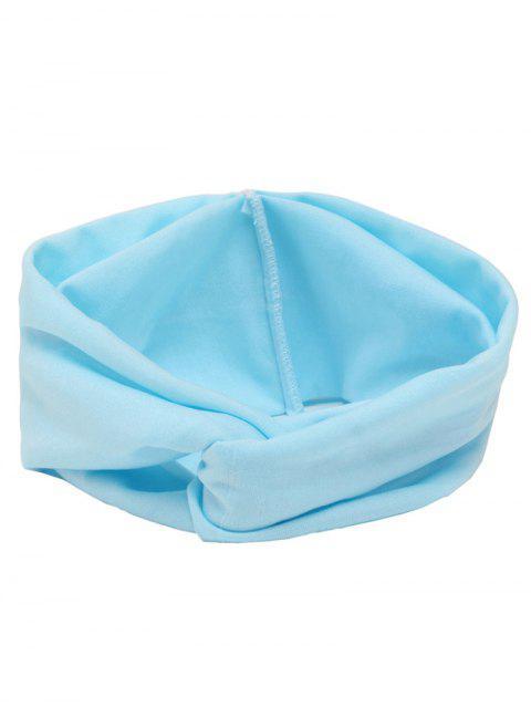 Bandeau Cheveux Élastique Multi-usages - Bleu clair  Mobile